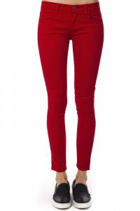 Брюки Trussardi Collection 207_NETRO_ROSSO_RED