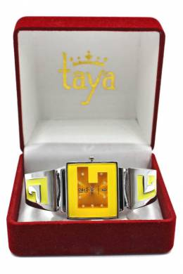 Часы Taya T-W-0404-WATCH-SL.YELLOW
