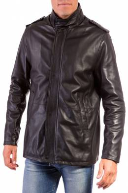 Leather jacket Ad Milano DAR546_BLACK
