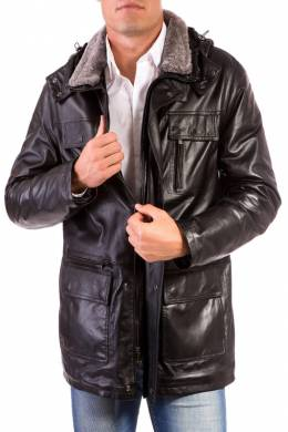 Leather jacket Ad Milano DAR560_BLACK