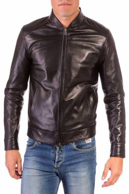 Leather jacket Ad Milano DAR511_BLACK