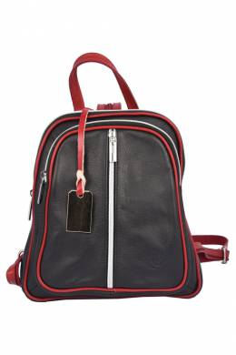 backpack Florence Bags 662016_26_BLACK_RED