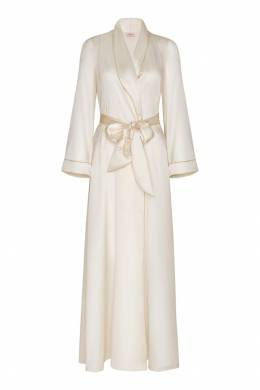 Халат Classic Dressing Gown Long белый Agent Provocateur 6943324