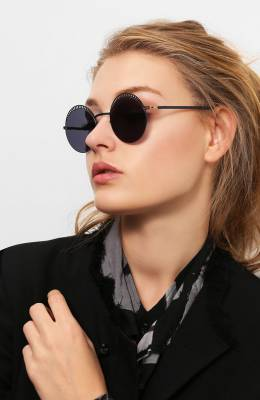 Солнцезащитные очки Mykita STUDI0 1.4/INDIG0/G0LD/BRILLIANTBLUE