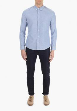 Рубашка Burton Menswear London 22O01LBLU