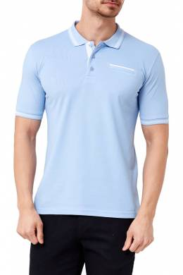 polo t-shirt Adze 18Y1AEK83550_LIGHT_BLUE