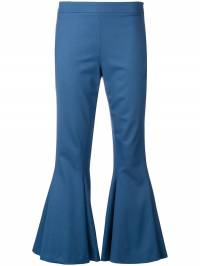 Marco De Vincenzo - flared cropped trousers 683A5DNF6UV893935935