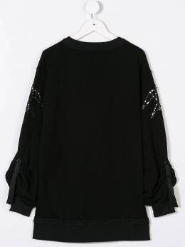 Andorine - embroidered sweater dress 9839A936535650000000