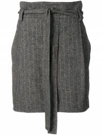 Ulla Johnson - belted herringbone mini skirt 86365933550890000000