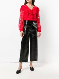 Three Floor - high waisted flared trousers 69365335000000000000