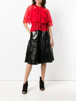 Three Floor - vernished flared skirt 39365335900000000000