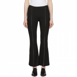 Rosetta Getty Black Cropped Flared Trousers 13184D6317