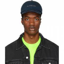 Vetements Navy Reebok Edition Sunday Weekday Cap UAH19AC306