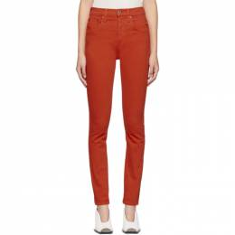 Re/done Red Originals High-Rise Jeans 185-3WHR1