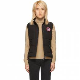 Canada Goose Black Freestyle Down Vest 2832L
