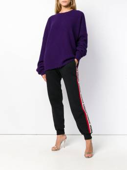 Unravel Project oversized distressed crew-neck sweater UWHE006E180630012500