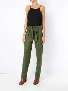 Olympiah - front tie straight trousers 05690956906000000000