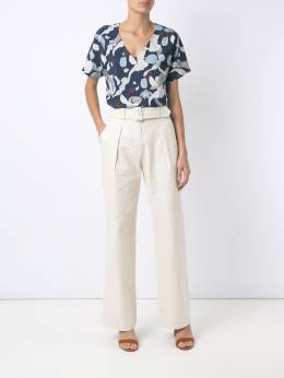 Egrey - belted flare trousers 09099935359000000000