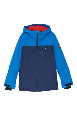Сине-голубая куртка для сноуборда Mission Quiksilver Kids 2764103034