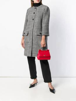 Dolce & Gabbana - houndstooth patterned coat 06TFQ0HN939036590000
