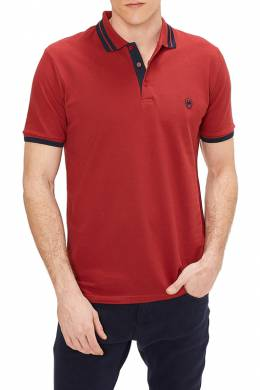 polo t-shirt Rnt 23 GZPO_03_WINE