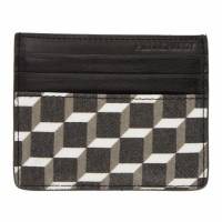 Pierre Hardy Black and White Cube Card Holder 192377M16300201GB