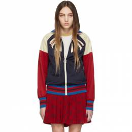 Gucci Navy Guccify Yourself Track Jacket 502287 X9P63