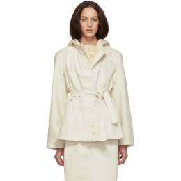 Lemaire White Martial Jacket W 192 OW257