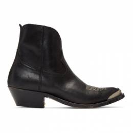 Golden Goose Deluxe Brand Black Young Boots 192264F11300103GB