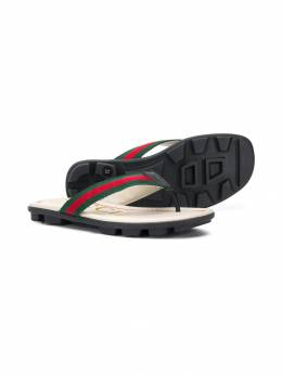 Gucci Kids - шлепанцы Web 635H9VO6938603660000