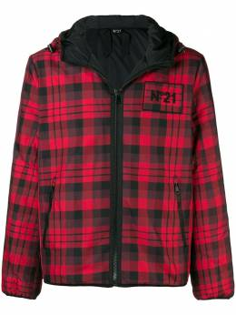 No. 21 checked hooded jacket N1MO0925118