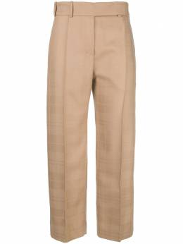 Alexandre Vauthier creased cropped trousers 183PA8530378