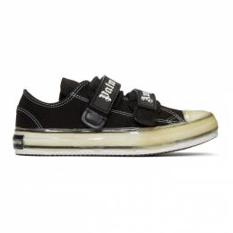 Palm Angels Black Velcro Vulcanized Sneakers 192695M23700204GB