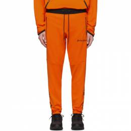 Palm Angels Orange Under Armour Edition Jogging Lounge Pants 191695M19000604GB