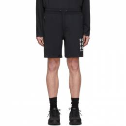 Palm Angels Black Under Armour Edition Shorts 191695M19300103GB