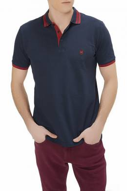 polo t-shirt Rnt 23 GZPO_03_NAVY