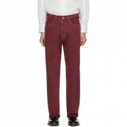 Our Legacy Red Third Cut Jeans M1935TR