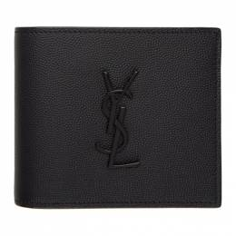 Saint Laurent Black Monogramme East/West Wallet 453276BTY0U