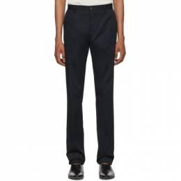 Etro Blue Flat Front Trousers 1P408 0329