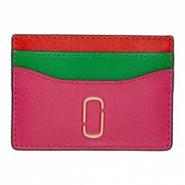 Marc Jacobs Pink Snapshot Card Holder 192190F03700801GB