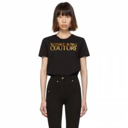 Versace Jeans Couture Black Logo T-Shirt 192202F11000204GB