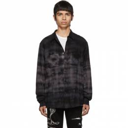 Amiri Black Tie-Dye Shirt 192886M19200506GB