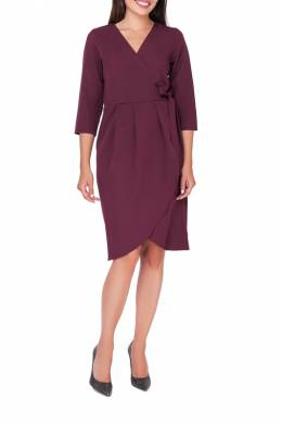 DRESS Foggy FG109_MAROON