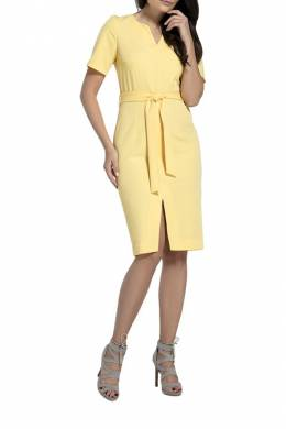 DRESS Foggy FG133_YELLOW