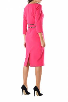 DRESS Foggy FG201_DARK_PINK