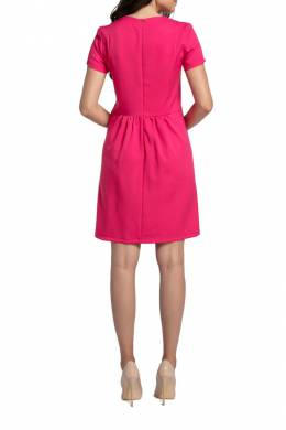 DRESS Foggy FG168_DARK_PINK