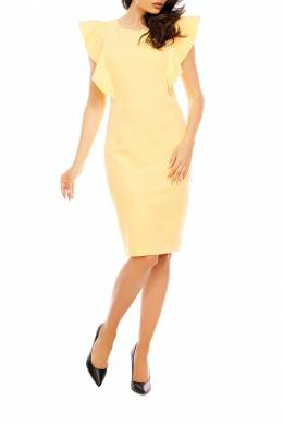 DRESS Foggy FG83_YELLOW