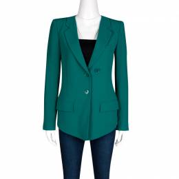 Sonia Rykiel Emerald Green Tailored Blazer S
