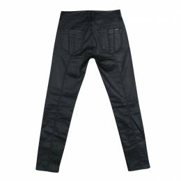 Burberry Brit Black Coated Westbourne Skinny Ankle Jeans M 133463