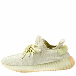 Yeezy x Adidas Butter Cotton Knit Boost 350 V2 Sneakers Size 42.5 194678